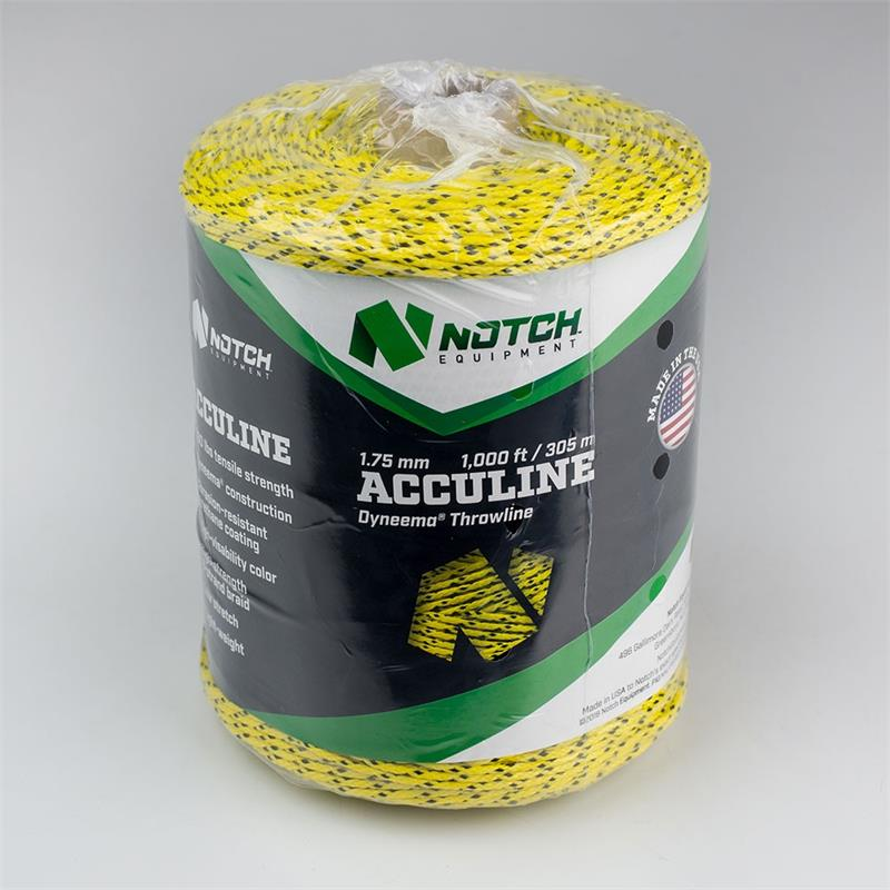 ARBORIST CLIMBING RIGGING SHERRILL NOTCH NEON PLUS 3MM THROWLINE 200FT